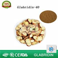 40% licorice extract glabridin powder(59870-68-7)