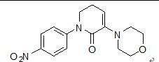 5,6-Dihydro-3-(4-morpholinyl)-1-(4-nitrophenyl)-2(1H)-pyridinone(503615-03-0)