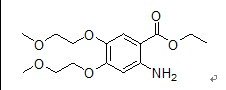 Ethyl 4,5-bis(2-methoxyethoxy)-2-aminobenzoate(179688-27-8)