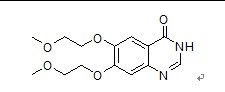 6,7-Bis-(2-methoxyethoxy)-4(3H)-quinazolinone(179688-29-0)
