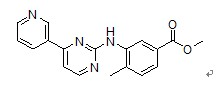 4-Methyl-3-[[4-(3-pyridinyl)-2-pyrimidinyl]amino]benzoic acid methyl ester(917392-54-2)