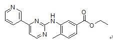 4-Methyl-3-[[4-(3-pyridinyl)-2-pyrimidinyl]amino]benzoic acid ethyl ester(641569-97-3)