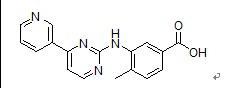4-Methyl-3-[[4-(3-pyridinyl)-2-pyrimidinyl]amino]benzoic acid(641569-94-0)
