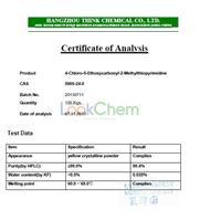 Avan. Inter. 4-Chloro-5-Ethoxycarbonyl-2-Methylthiopyrimidine 5909-24-0(5909-24-0)