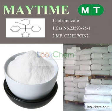 High Purity 99% Pharmaceutical Clotrimazole,Cas: 23593-75-1