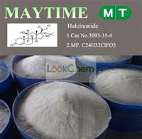 Competitive Price and Best Quality Halcinonide 3093-35-4
