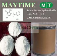 Bromohexine Hydrochloride /Bromhexine Hcl Gold manufacturer China Cas No.611-75-6