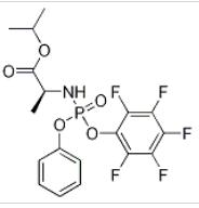 N-[(S)-(2,3,4,5,6-Pentafluorophenoxy)phenoxyphosphinyl]-L-alanine 1-methylethyl ester(1334513-02-8)