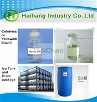 China Manufacturer Glyoxal 40%, Formaldehyde <100 PPM