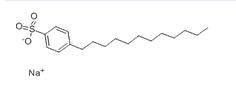 dodecyl benzenesulfonic acid, sodium salt