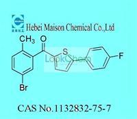 (5-Bromo-2-Methylphenyl)(5-(4-fluorophenyl)thiophen-2-yl)Methanone(1132832-75-7)