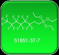 CAS 51851-37-7  1H,1H,2H,2H-PERFLUOROOCTYLTRIETHOXYSILANE
