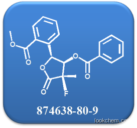 ((2R,3R,4R)-3-(benzoyloxy)-4-fluoro-4-methyl-5-oxotetrahydrofuran-2-yl)methyl benzoate CAS NO.874638-80-9