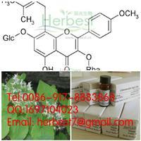 Icariin,CAS:5508-58-7,98% by HPLC+MS+NMR(489-32-7)