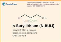 Organolithium compound CAS: 109-72-8,n-Butyllithium (N-BULI),1.6-2.5M in n-hexane solution,,leading exporter of Grignard Reagent in China,Hangzhou Fandachem Co.,Ltd