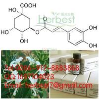 Chlorogenic acid,327-97-9,98% by HPLC+MS+NMR