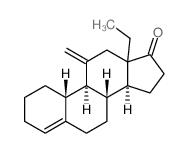 (8s,9s,10r,14s)-13-ethyl-11-methylene-2,3,7,8,9,10,11,12,13, 14,15,16-dodecahydro-1h-cyclopenta[a]phenanthren-17(6h)-one