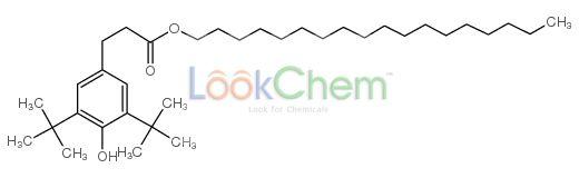 N-octadecyl (3-[3,5-di-tert-butyl-4-hydroxyphenyl]propionate)