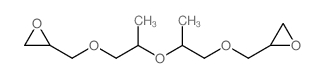 2-[2-[1-(oxiran-2-ylmethoxy)propan-2-yloxy]propoxymethyl]oxirane