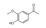 1-(4-hydroxy-3-methoxyphenyl)ethanone