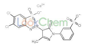 Calcium,4,5-dichloro-2-[[3-methyl-5-oxo-1-(3-sulfonatophenyl)-4h-pyrazol-4-yl]diazenyl]benzenesulfonate