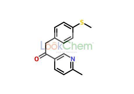 1-(6-Methylpyridin-3-yl)-2-[4-(methylthio)phenyl]ethanone(221615-72-1)