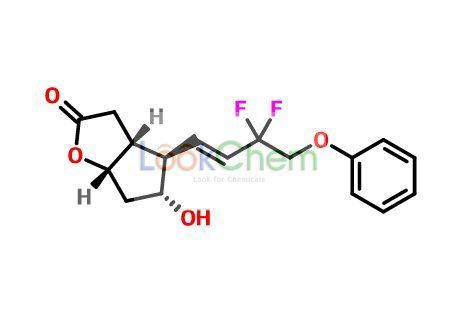(3AR,4R,5R,6AS)-4-((E)-3,3-Difluoro-4-phenoxybut-1-en-1-yl)-5-hydroxyhexahydro-2H-cyclopenta[b]furan-2-one(209861-01-8)