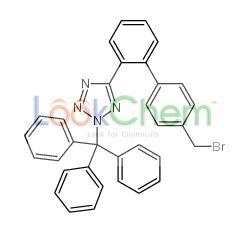 5-[2-[4-(bromomethyl)phenyl]phenyl]-2-trityltetrazole