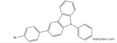 3-(4-bromophenyl)-9-phenyl-9H-carbazole;BrPPC 1028647-93-9 with high purity99% in stock