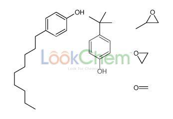 4-tert-butylphenol,formaldehyde,2-methyloxirane,4-nonylphenol,oxirane