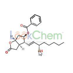(3AR,4R,5R,6aS)-4-((S,E)-3-Hydroxyoct-1-en-1-yl)-2-oxohexahydro-2H-cyclopenta[b]furan-5-yl benzoate(40834-88-6)