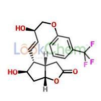 (+)-(3aR,4R,5r,6aS)-Hexahydro-5-hydroxy-4-[(1E,3R)-3-hydroxy-4-(3-trifluoromethyl)phenoxy-1-butenyl]-2H-cyclopenta[b]furan-2-one(53872-60-9)