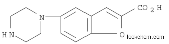5-(Piperazine-1-yl)benzofuran-2-carboxylic acid with competetive price CAS NO.183288-47-3