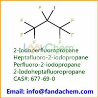 Fire-extinguishing agents 2-Iodoperfluoropropane,Heptafluoro-2-iodopropane,Perfluoro-2-iodopropane,2-Iodoheptafluoropropane 99% from FandaChem,China