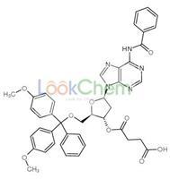 4-[(2R,3S,5R)-5-(6-benzamidopurin-9-yl)-2-[[bis(4-methoxyphenyl)-phenylmethoxy]methyl]oxolan-3-yl]oxy-4-oxobutanoic acid