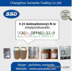 Factory supply 4-(4-Aminophenoxy)-N-methylpicolinamide at best price in China