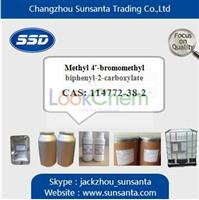 High Purity Methyl 4'-bromomethyl biphenyl-2-carboxylate factory in stock