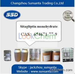 High quality Sitagliptin phosphate monohydrate 99%min supplier