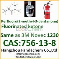 Halon replacement gaseous fire suppression agent C6F12O,Fluorinated ketone,3M Novec 1230,perfluoro(2-methyl-3-pentanone) from Hangzhou Fandachem Co.,Ltd