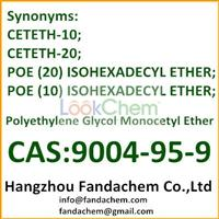 Polyethylene glycol monocetyl ether,cas:9004-95-9 from Fandachem