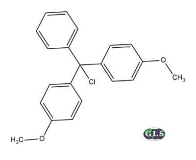 DMT-Cl, 4,4'-Dimethoxytrityl Chloride, MDL#:MFCD00008409