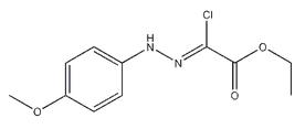 Ethyl chloro[(4-Methoxyphenyl)hydrazono]acetate/ 27143-07-3/ 98% IN STOCK