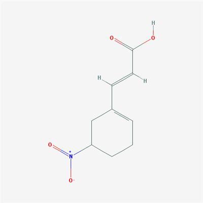 2-Propenoic acid, 3-(5-nitro-1-cyclohexen-1-yl)-, (2E)-