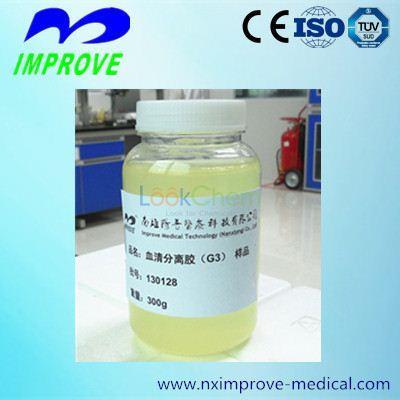 Serum separator gel