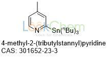 Competitive price 4-methyl-2-tributylstannylpyridine 301652-23-3 wholesale