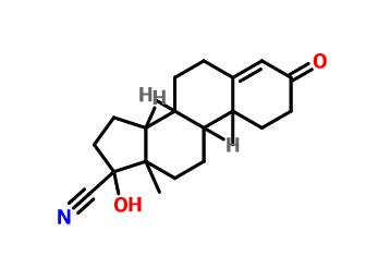 17-Hydroxy-3-oxoandrost-4-ene-17-carbonitrile(77881-13-1)