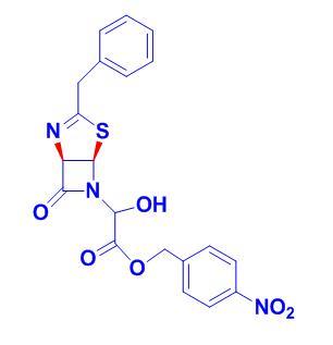 00-00-0   FY6069   4-nitrobenzyl 2-((1R,5R)-3-benzyl-7-oxo-4-thia-2,6-diazabicyclo[3.2.0]hept-2-en-6-yl)-2-hydroxyacetate
