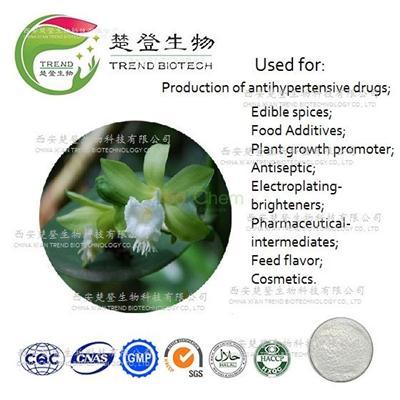 Ethyl vanillin(3-Ethyl-4-Hydroxybenzaldehyde)3-4times as fragrant as Vanillin