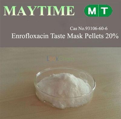 Enrofloxacin Taste Mask Pellets 20% CAS NO.93106-60-6