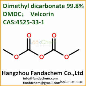Dimethyl dicarbonate(DMDC) 99.8%,Velcorin, CAS:4525-33-1 from Hangzhou Fandachem Co.,Ltd